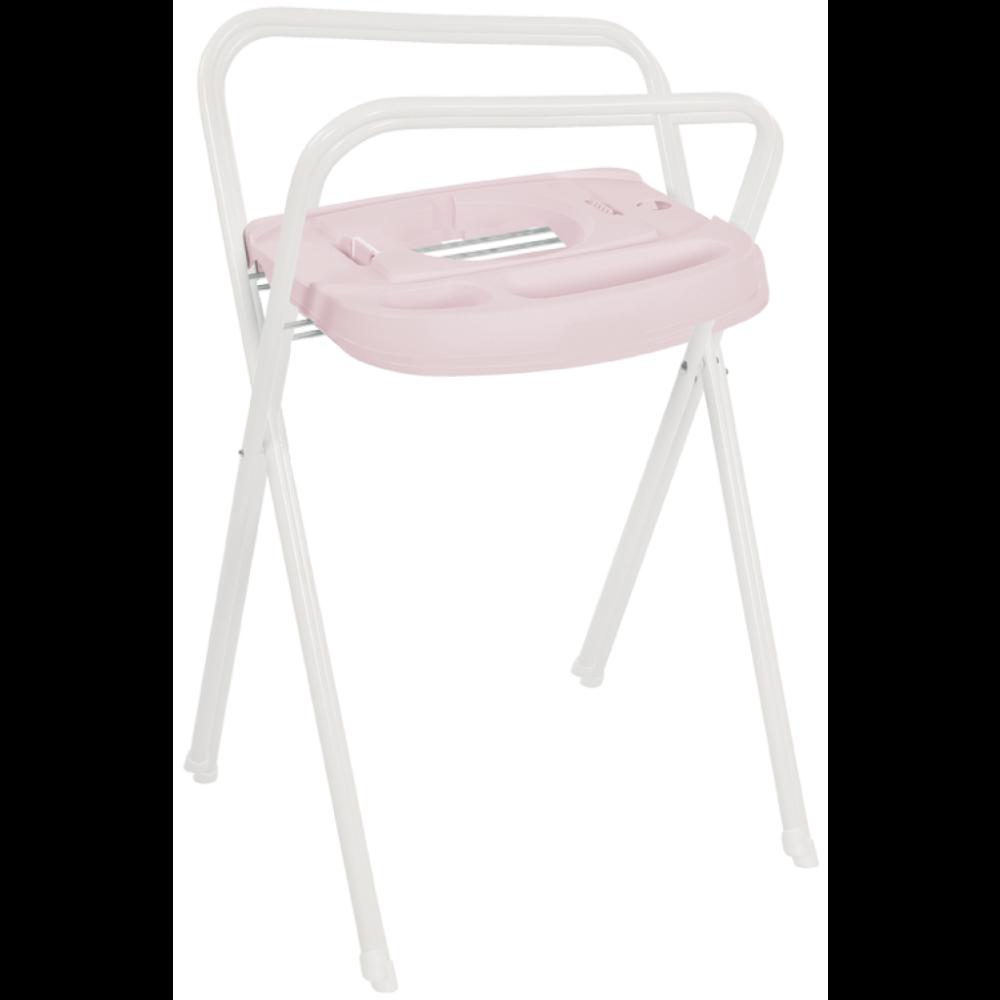 7ee7de43249 Bebe-Jou Click Badstandaard Wit/Pretty Pink 98 cm - Babycare.nl ...