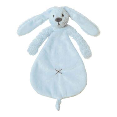 Happy Horse Blue Rabbit Richie Knuffeldoekje (25 cm)