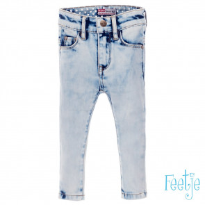 Feetje Light blue slim fit denim girls 62