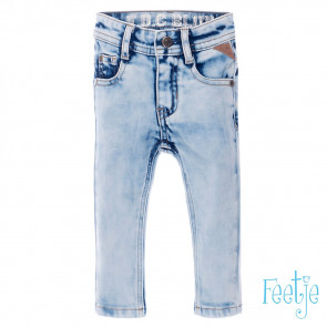 Feetje Light blue slim fit denim boys 74