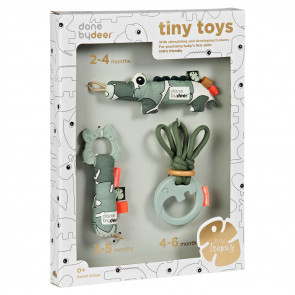 Done By Deer Tiny Toys Giftset Tiny Tropics