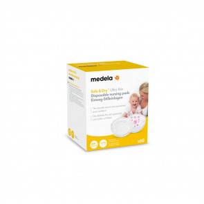 Medela Disposable Zoogkompressen – Ultra Thin 60 stuks