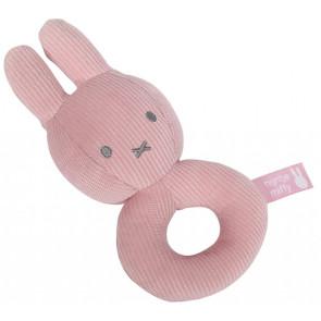 Nijntje Rammelaar Pink Baby Rib