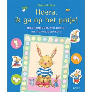 Deltas Kleine Huppel Hoera Ik Ga Op Het Potje met Poster en Motivatiestickers