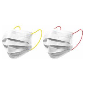 Nuby Mondmaskers Jongvolwassenen Neon Geel/Oranje 10st
