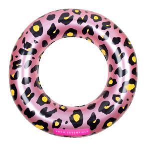 Swim Essentials Roze Panterprint Zwemband