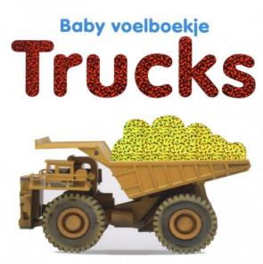 Baby Voelboekje -Trucks-