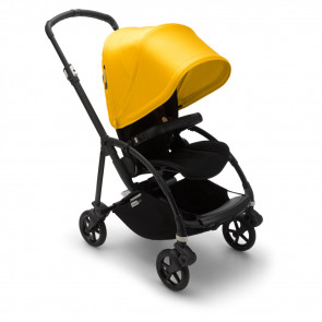 Bugaboo Bee6 Complete Black/Black - Lemon Yellow
