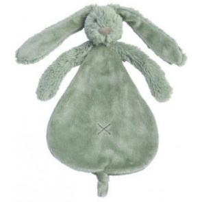 Happy Horse Groen Rabbit Richie Knuffeldoekje 25 cm