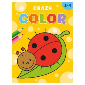 Crazy Color Kleurboek