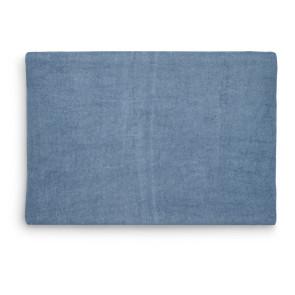 Jollein Aankleedkussenhoes Badstof 50x70cm Jeans Blue