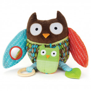 Skip Hop Hug & Hide Activity Toy Uil