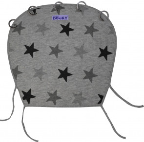 Dooky Cover Design Grey Stars