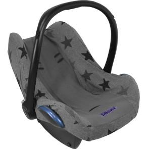Dooky Seat Cover 0+ Autostoelhoes Grey/Grey Star