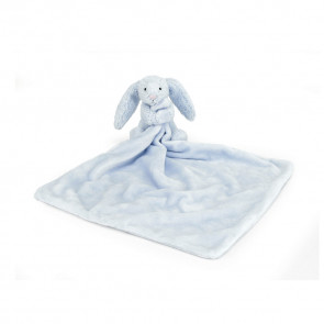 Jellycat Bashfull Bunny Blue Soother