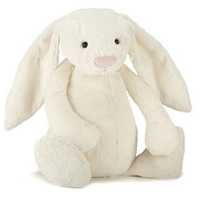 Jellycat Bashfull Bunny Cream (18 cm)