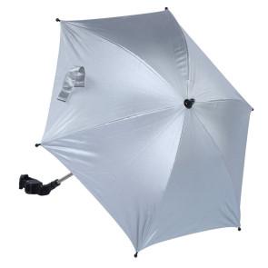 Titaniumbaby Parasol voor Kinderwagen Zilver