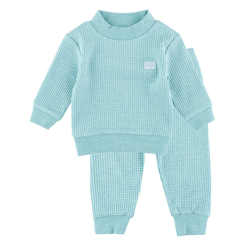 Feetje Babykleding.Feetje Pyjamas Waffle Green Melee Babycare Nl Worldwide Shipping