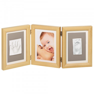 Baby Art Trio Picture Frame Naturel