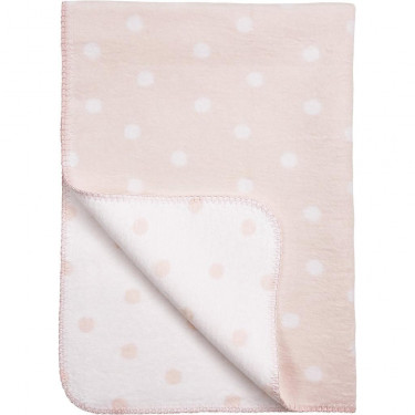 Meyco Blanket Cradle Dot Pink/White
