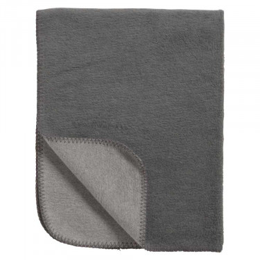 Meyco Blanket Cradle Double Face Anthracite/Grey