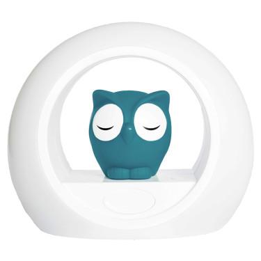 Zazu Night Light Owl Blue