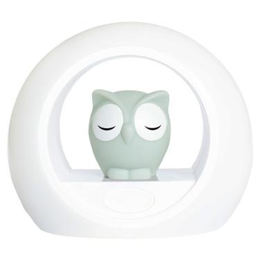 Zazu Night Light Owl Grey