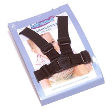 Babsana Safety Harness Nylon Black incl. Walk Line