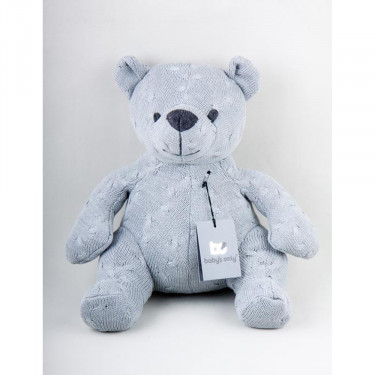 Baby's Only Bear Cable Light Grey (35cm)