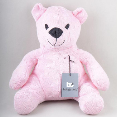 Baby's Only Bear Cable Pink (35 cm)