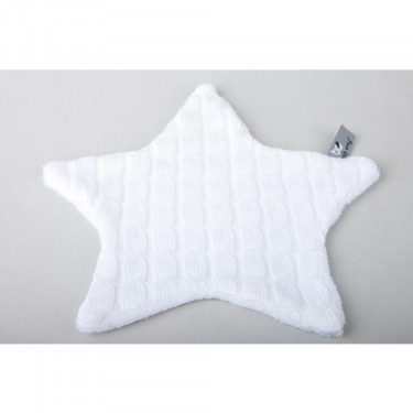 Baby's Only Cuddle Cloth Cable Teddy Star White