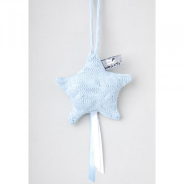 Baby's Only Decoration Cable Star Blue