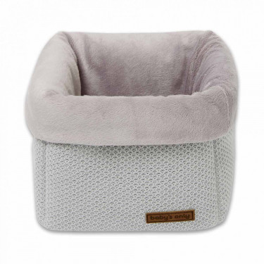 Baby's Only Dresser Basket Classic Silver Grey