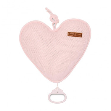 Baby's Only Music Box Heart Classic Pink