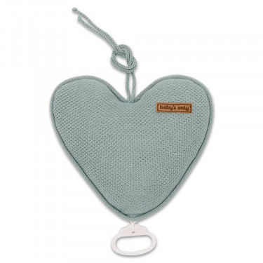 Baby's Only Music Box Heart Classic Stonegreen