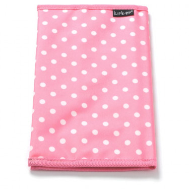 KipKep Napper Diaper Bag Dotty Pink