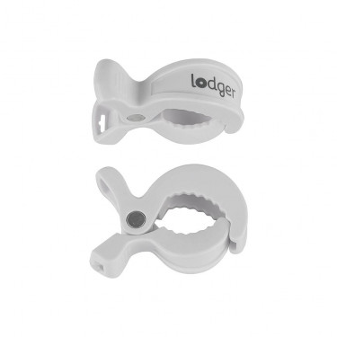 Lodger Swaddle Clips White