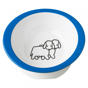 Mepal Bruna Farm Blue Porridge Plate