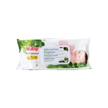 Nuby Citroganix Baby Wipes (80 pcs.)