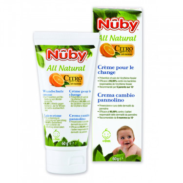 Nuby Citroganix Diaper Cream (60 gram)
