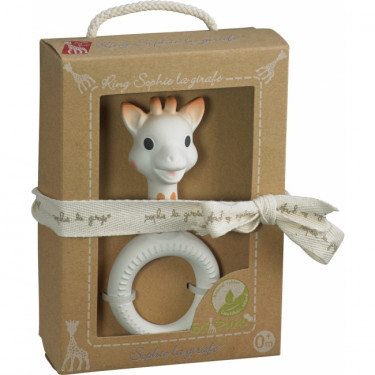 Sophie the Giraf So' Pure Teether with Ring in Giftbox