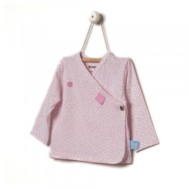 Snoozebaby Cardigan Pink Dot