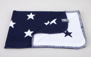 Baby's Only Cot Blanket Star Marine/White 75 × 90 cm