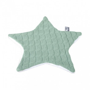 Baby's Only Cuddle Cloth Cable Teddy Star Mint