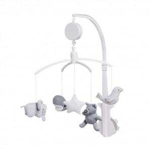 Baby's Only Musical Mobile Silvergrey/Grey/White