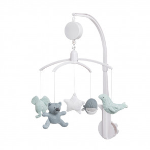 Baby's Only Musical Mobile Stonegreen/Mint/White