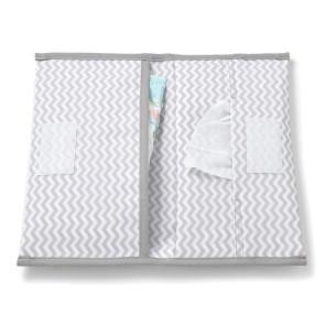 KipKep Napper Diaper Bag Ziggy Grey