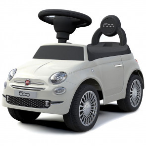 Fiat 500 Ride-On Car White