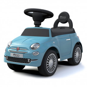 Fiat 500 Ride-On Car Blue