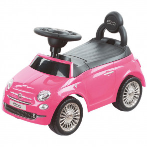 Fiat 500 Ride-On Car Pink